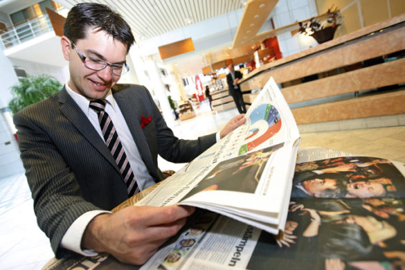 SD party leader Jimmie Åkesson reacts to 2010 parliamentary gains.
