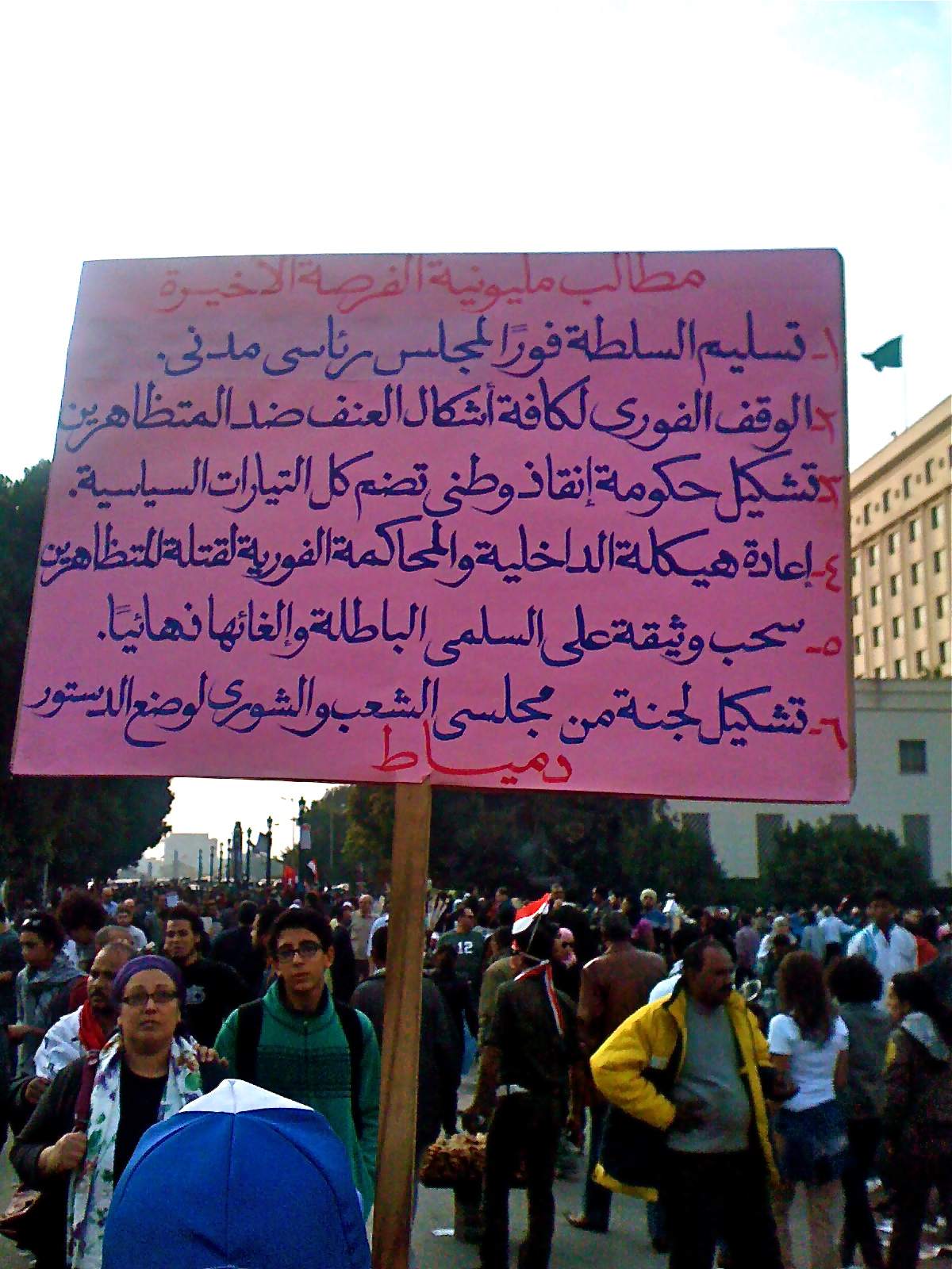 Resilience in Tahrir Square