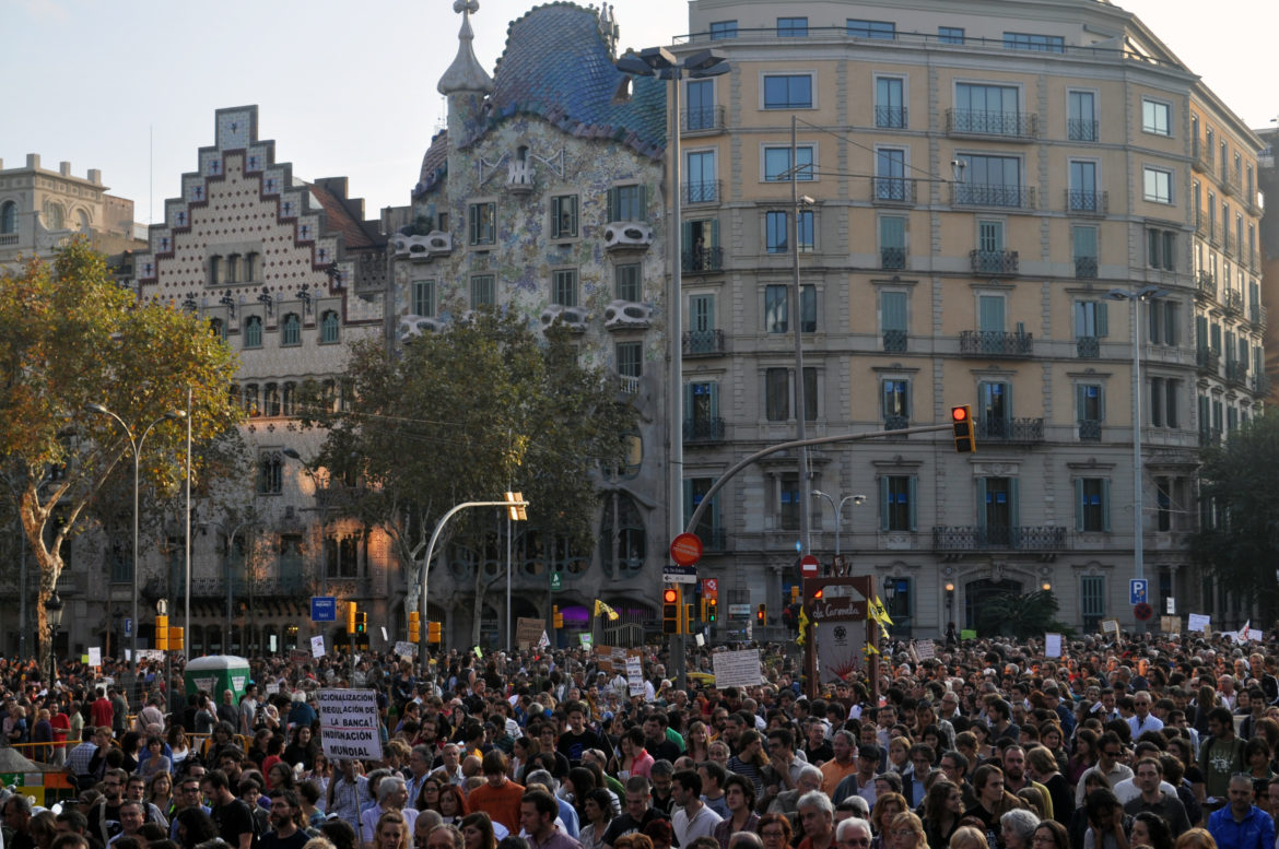 October 15, 2011 in Barcelona, Spain. Photo by Ferran Masip-Valls.