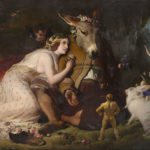 Edwin Landseer - Scene from A Midsummer Night's Dream. Titania and Bottom