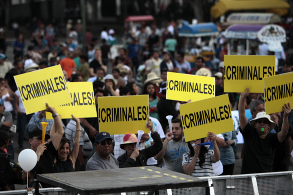 Guatemalan Protests