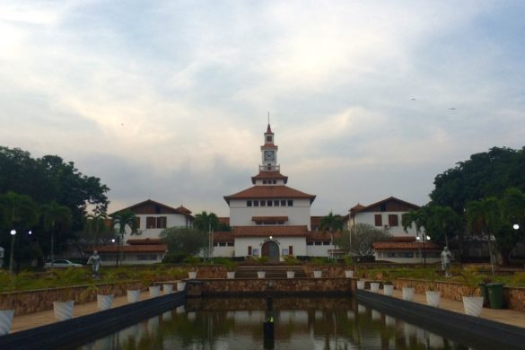 Balme Library, University of Ghana, Legon. By Tala Ahmadi