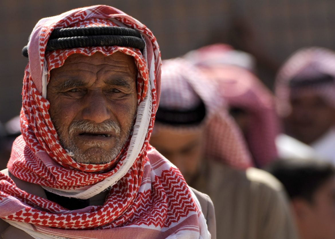 Portrait of unnamed Middle Eastern man