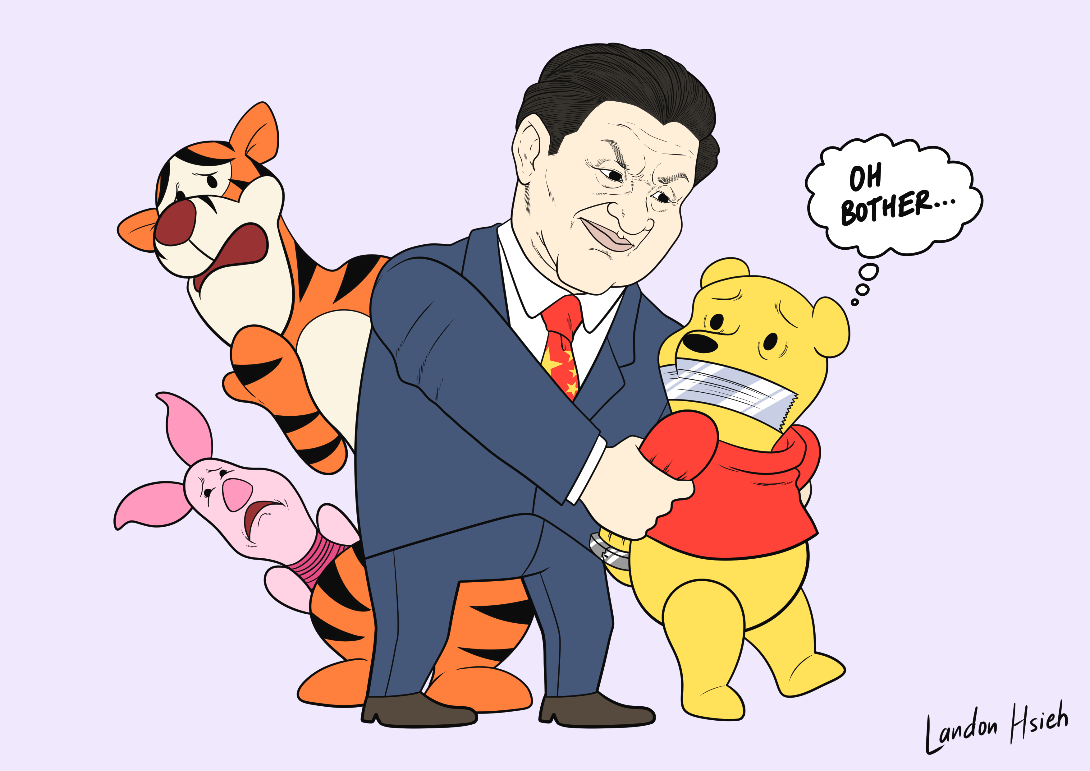 Censor the Pooh
