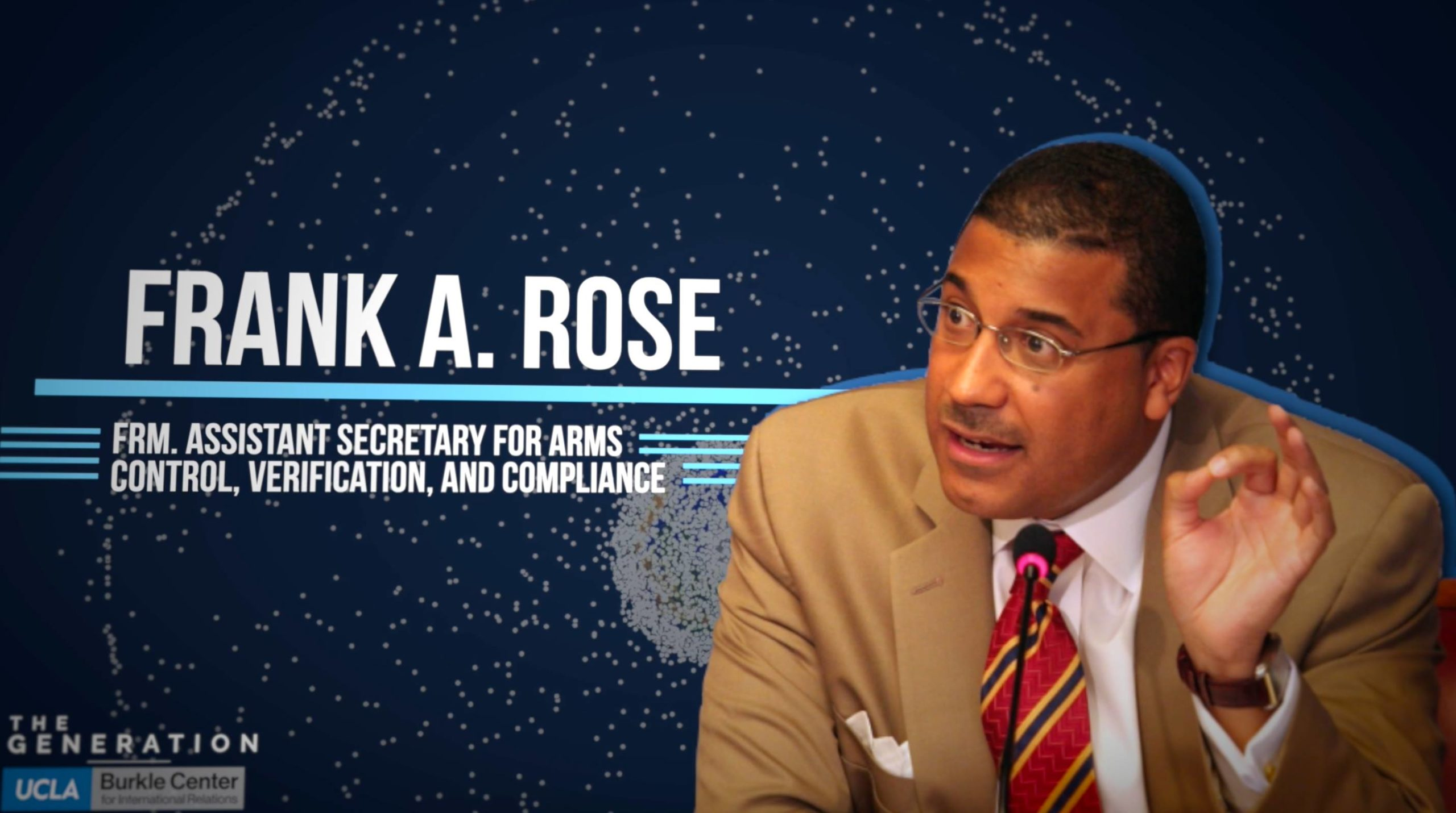 Interview with Former Assistant Secretary of State Frank A. Rose on the Militarization of Space
