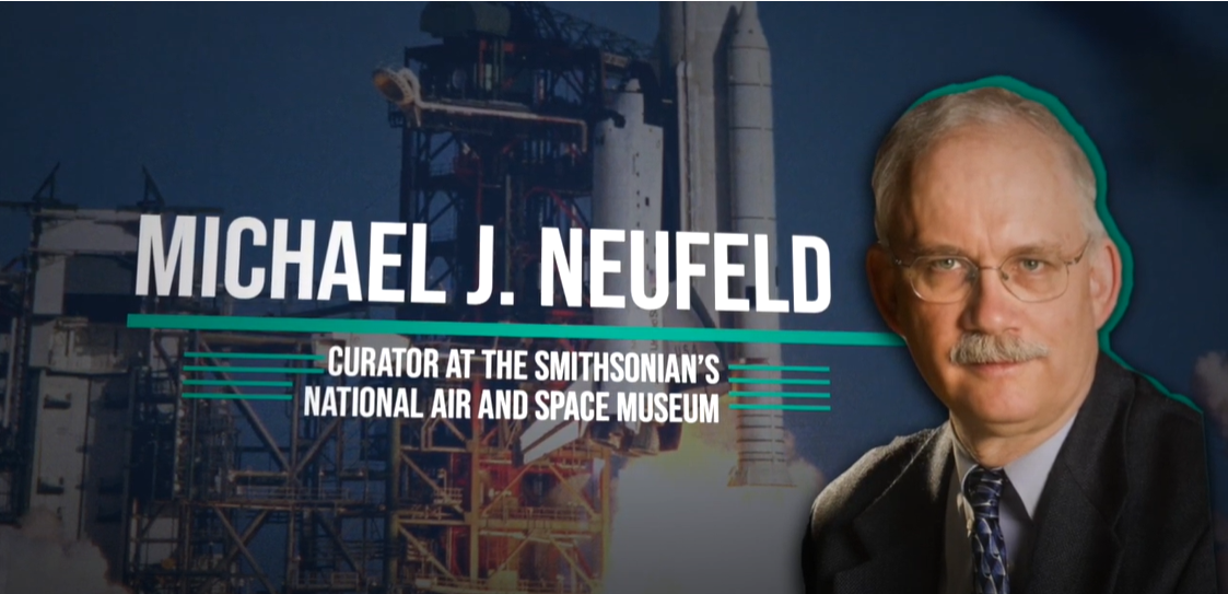Interview with Dr. Michael J Neufeld on the Militarization of Space