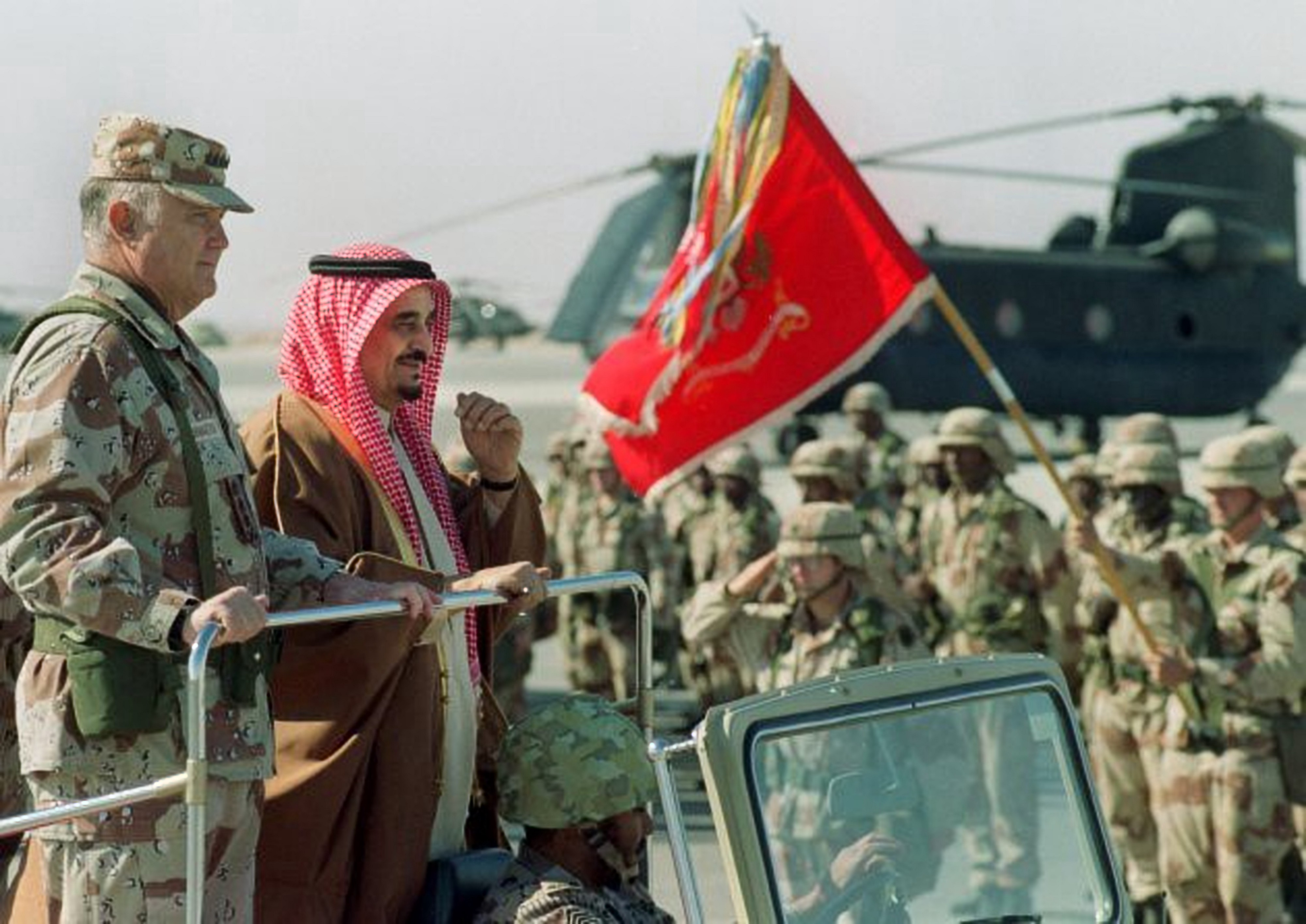 The Gulf War: Overcoming the Collective Action Problem
