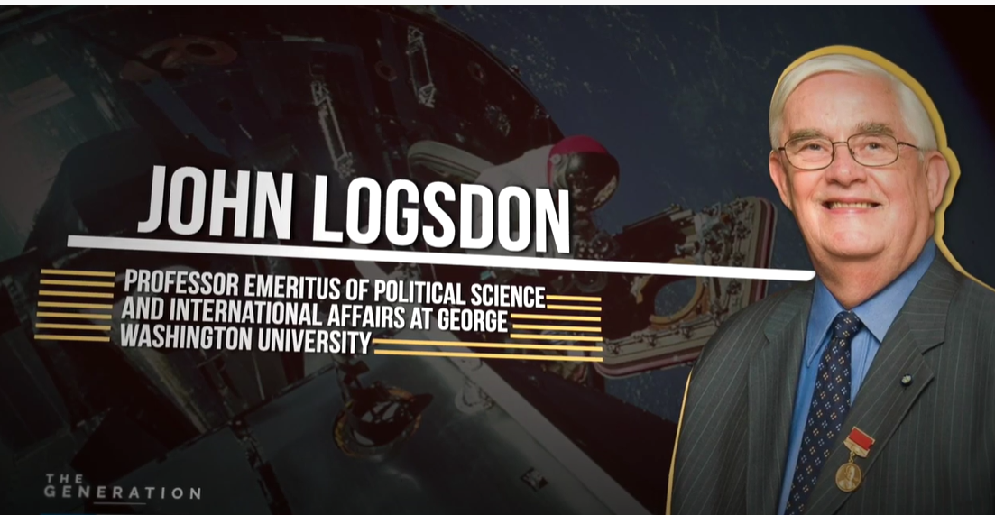 Interview with Prof. Emeritus of Political Science at GW Uni Dr. John Logsdon